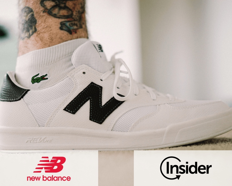 New Balance uplifts conversion rate by 556% Success Story - Insider