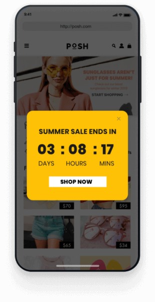 sales ends countdown