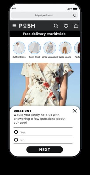 in-app questions