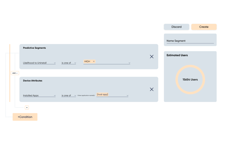 Image explaining using Insider's Predictive Segments and App Tracker